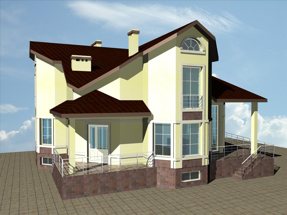 Индивидуальный жилой дом в Геленджике