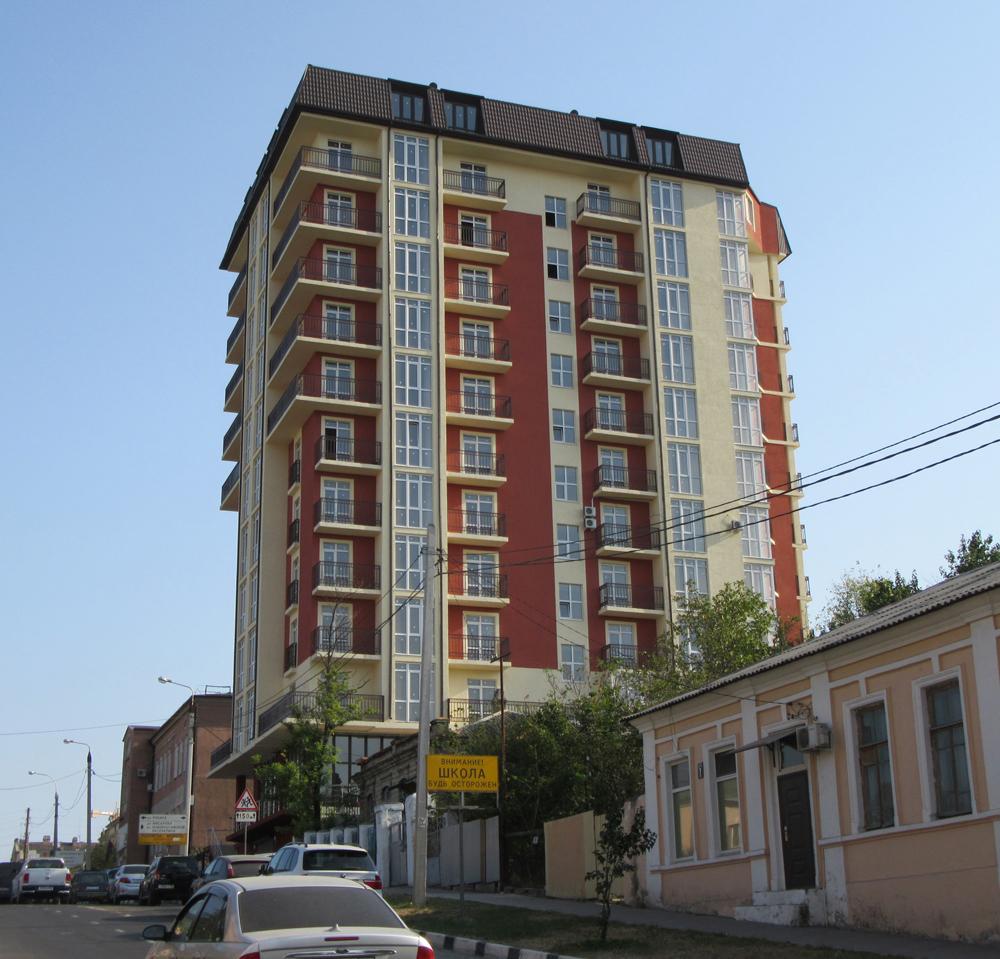 Многоэтажный жилой дом в г.Новороссийске